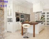 Populärer klassischer festes Holz-neues Modell-Laminat-Küche-Schrank