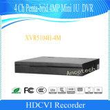 Dahua 4CH Penta-Brid 4MP小型1uデジタルのビデオレコーダー(XVR5104H-4M)