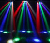 거미 빛, LED 단계 램프를 동요하는 RGB LED