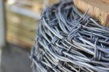 保護のためのPVC上塗を施してある有刺鉄線