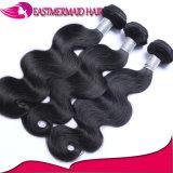 Популярные человеческие волосы связывают перуанские волос Non-Remy объемной волны