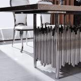 2016 Le plus récent modèle Table de salle à manger en bois moderne de 6 places
