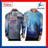 Overhemden van de Visserij van Sublimaton van de Douane van de Kleding van de Verkoop van China de Hete voor Mensen