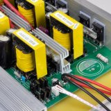 5000W 12V/24V/48VDC à l'inverseur pur d'onde sinusoïdale d'AC110V/220V