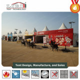 3x3m Pagoda Marquee Festival Tenda para eventos ao ar livre
