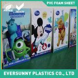 panneaux blancs de Foamex de couleur de 3mm, panneaux de mousse de PVC pour le signe et impression de la publicité