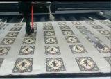 Le tissu tissé étiquette la machine de découpage de laser de CO2 avec la caméra ccd