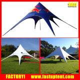 屋外のイベントのためのロゴの星のテントの望楼をカスタム設計しなさい