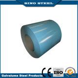 Dx51D en color de la bobina de acero galvanizado recubierto de Prepainted