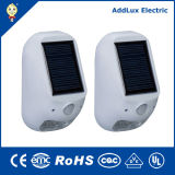 White chaud Outdoor 1W SMD DEL Solar Powered Lamp