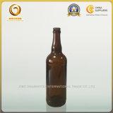Preiswerte bernsteinfarbige Bier-Glasflasche des Preis-650ml mit Kronen-Schutzkappe (1168)