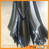 Seguridad alta empalizada de acero galvanizado negro Ultra guarnición Picket Fence