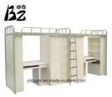 2개의 층 강철 목제 침대 (BZ-0145)