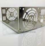 Estampación de adaptador de alimentación caja caja de metal estampado de verificación para el equipo del interruptor de alimentación Fuente de alimentación envoltura de acero inoxidable