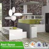 最もよい感覚モジュラーMDF PVC/Melamineの食器棚