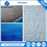 De In reliëf gemaakte Geschilderd/het Met een laag bedekte Kleur van Nano 3003, 3003, 1100 Legering PVDF/PE Blad van de Rol van het Aluminium voor Decoratie en Bouwmateriaal