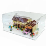 Nova caixa de caixa de exibição de acrílico Lego para 71006 Simpson House