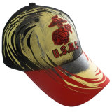 Бейсбольные кепки с металлическим печатание Gj1777