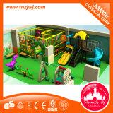 El modelo colorido del parque de atracciones embroma el equipo de interior de la gimnasia del patio