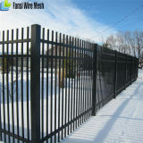 6FT Wrought Iron Fence with Spear Top
