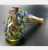 De Waterpijp van de kleur van het Handvat van de Hamer van de Spijker van het Glas van 4.33 Duim