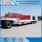 Niedriger Bett-halb Hochleistungsschlußteil mit hydraulischer Strichleiter für Becken-/Fahrzeug-/Exkavator-/Technik-Fahrzeug-Transport