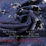 100%Cottonは服のジャケットのためのファブリックを刺繍する