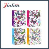 Il marchio su ordinazione stampato comercia il sacco di carta all'ingrosso poco costoso Handmade con i Hangtags