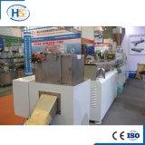 Máquina de plástico HDPE LDPE peletizadora Horizontal anillo de agua de extrusión