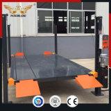 Professional projetados quatro tipo de Post estacionar equipamento hidráulico