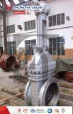 Válvula de puerta de levantamiento industrial del vástago del API 150lb Wcb