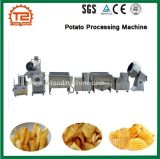 반 자동적인 스테인리스 감자 생산 라인 감자 가공 기계