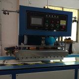 máquina de soldadura automática de encerado do PVC 8kw para a soldadura da tampa do caminhão