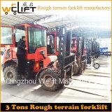 3 Tonnen-raues Gelände-Dieselgabelstapler