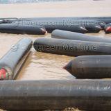 Морской подъем тяжестей резиновой подушки безопасности на море
