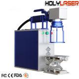 Maquinaria de metal marcadora láser de fibra