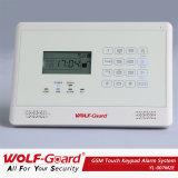 Alarme de assaltante Wolfguard GSM Home Security com iPhone e Android