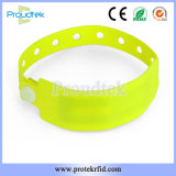 Bracelet médicaux jetables RFID PVC Bracelet réglable