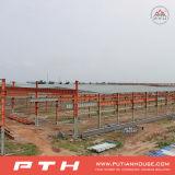Estructura de acero fabricada alta calidad para el almacén