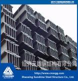 Feixe de aço de H de Srtucture de aço com material de construção