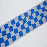 Bande réfléchissante haute visibilité en polyester Tissu matériel pour la sécurité
