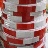 Weißer und roter PUNKT hohe Visuable Schlussteil-Augenfälligkeit, die reflektierendes Band für Fahrzeug markiert