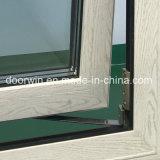 لوح وحيد زجاجيّة [ألومينوم ويندوو] مع خشبيّة حبّة لون إنهاء