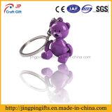 Chaîne porte-clés en métal mignon de petit ours en ligne 2016 avec cadeau