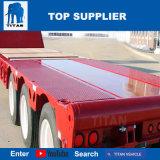 대륙간 탄도탄 Lowboy 트레일러 100 톤 6 차축 판매를 위한 낮은 로더 트레일러 Dolly Lowbed 트레일러