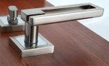 Griff-Nut-Tür-Verschluss-Außennut-Verschluss auf Rosen-Tür-Fleck-Nickel