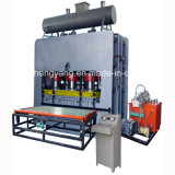 Machine feuilletante de mélamine chaude de presse