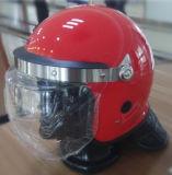 빨간 반대로 난동 헬멧