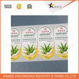 Sticker van de Fabriek van de Verkoop van het Ontwerp van de douane de Hete Professionele Directe zelfklevende
