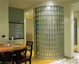 중국 공장 판매 공간 & 착색된 흐린 유리 벽돌 (JINBO)